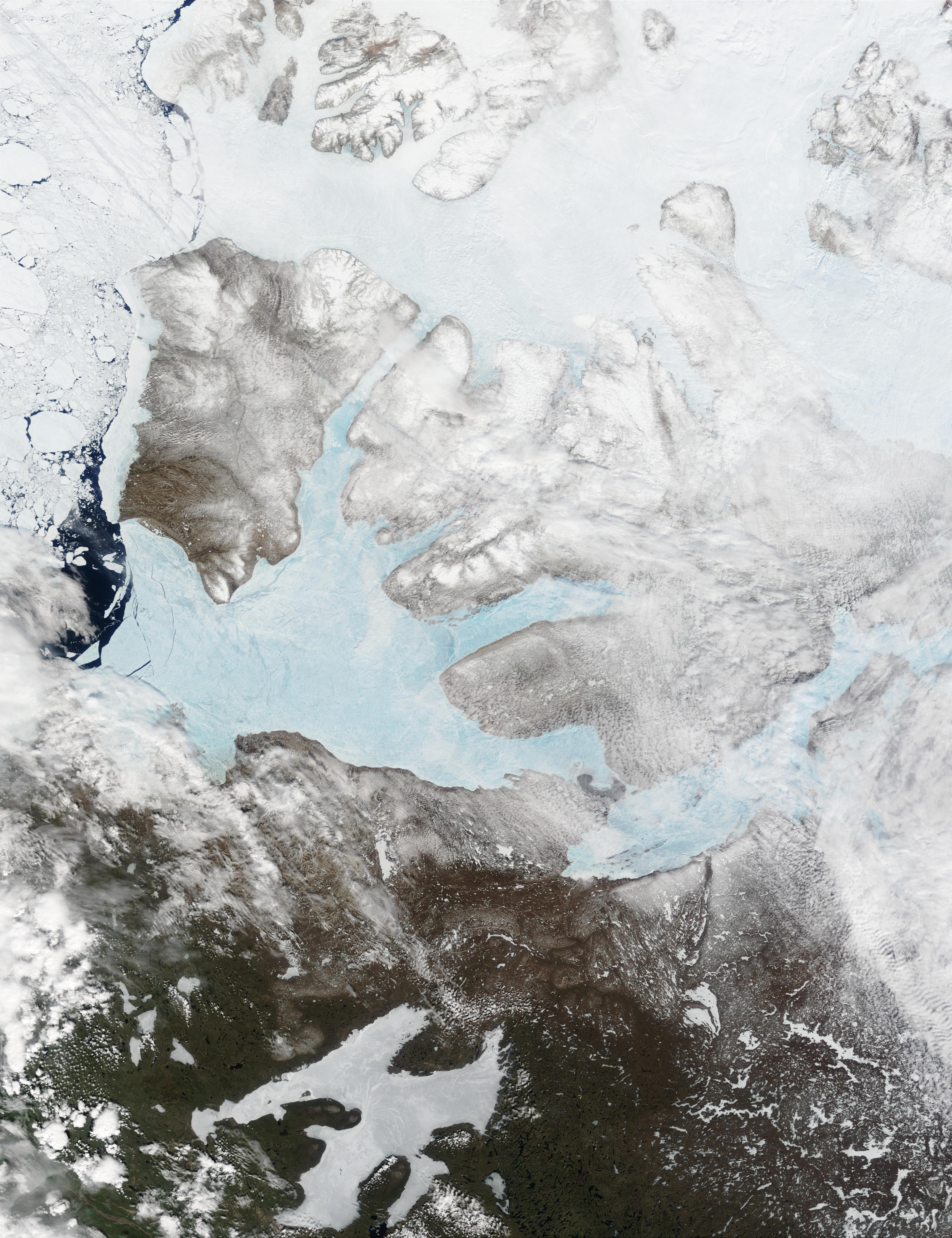 Isla Victoria, norte de Canadá