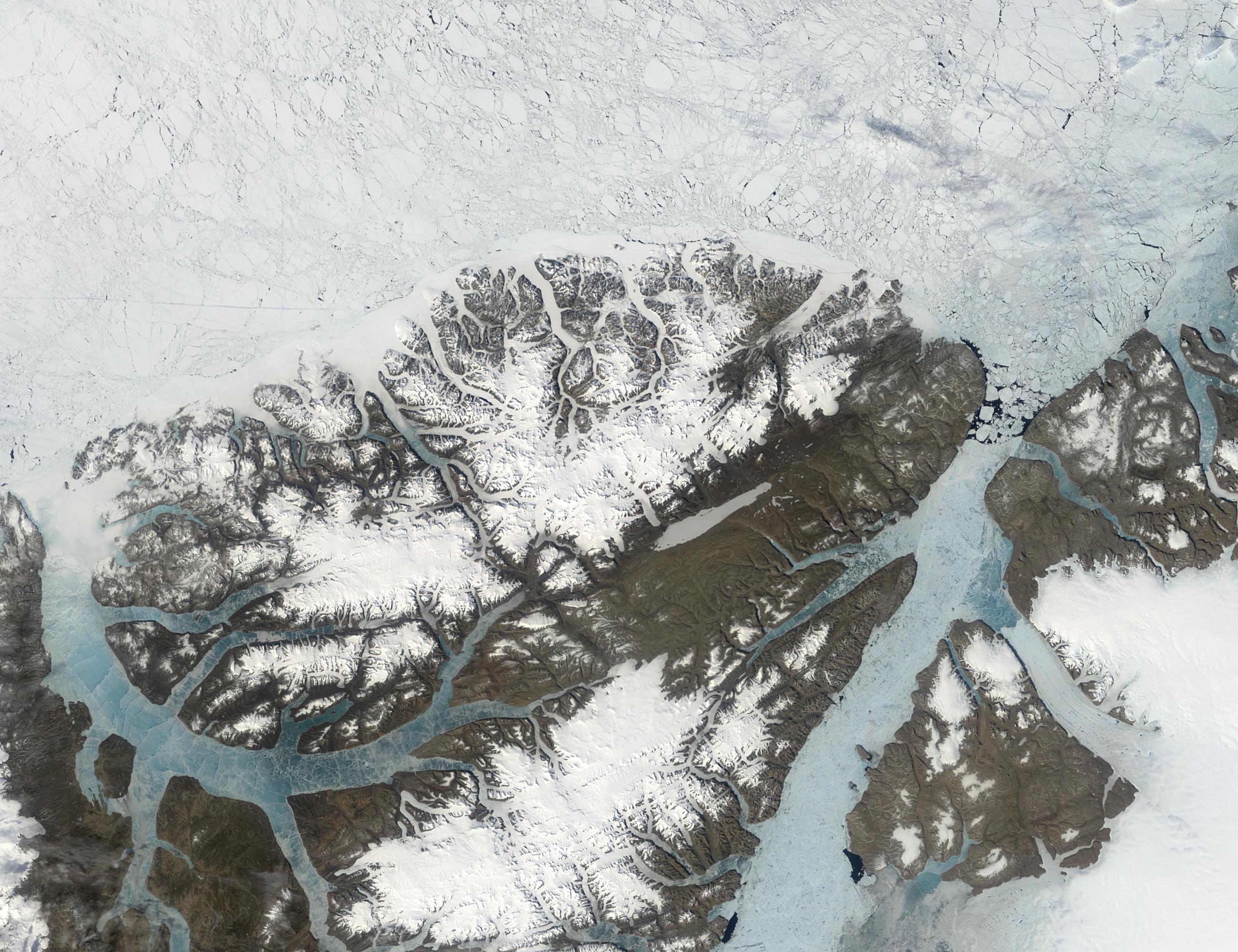 Isla de Ellesmere, norte de Canadá