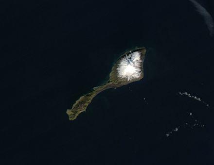 Isla de Jan Mayen, Mar de Groenlandia