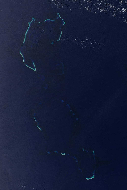 Islas Chesterfield en el mar del Coral