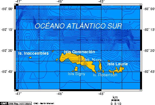 Islas Orcadas del Sur