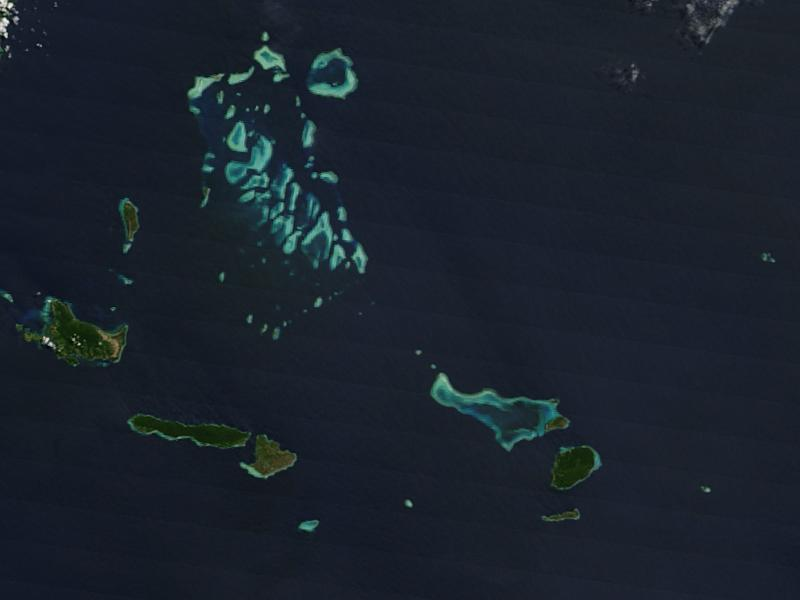 Islas en el Mar de Flores, Indonesia