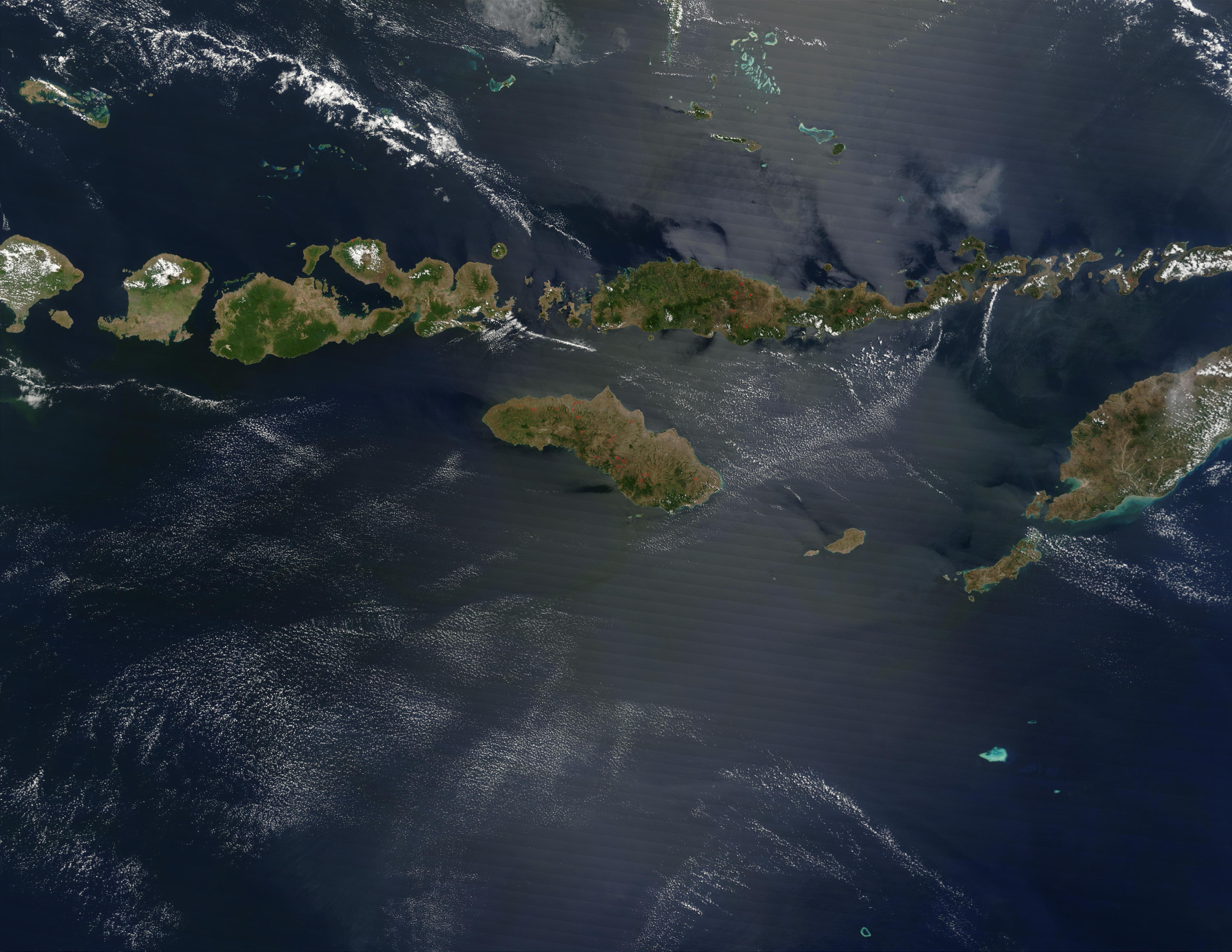The Lesser Sunda Islands, Indonesia