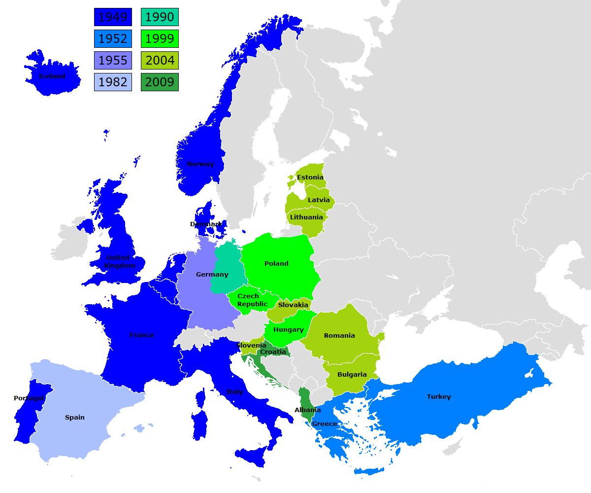 La OTAN en Europa