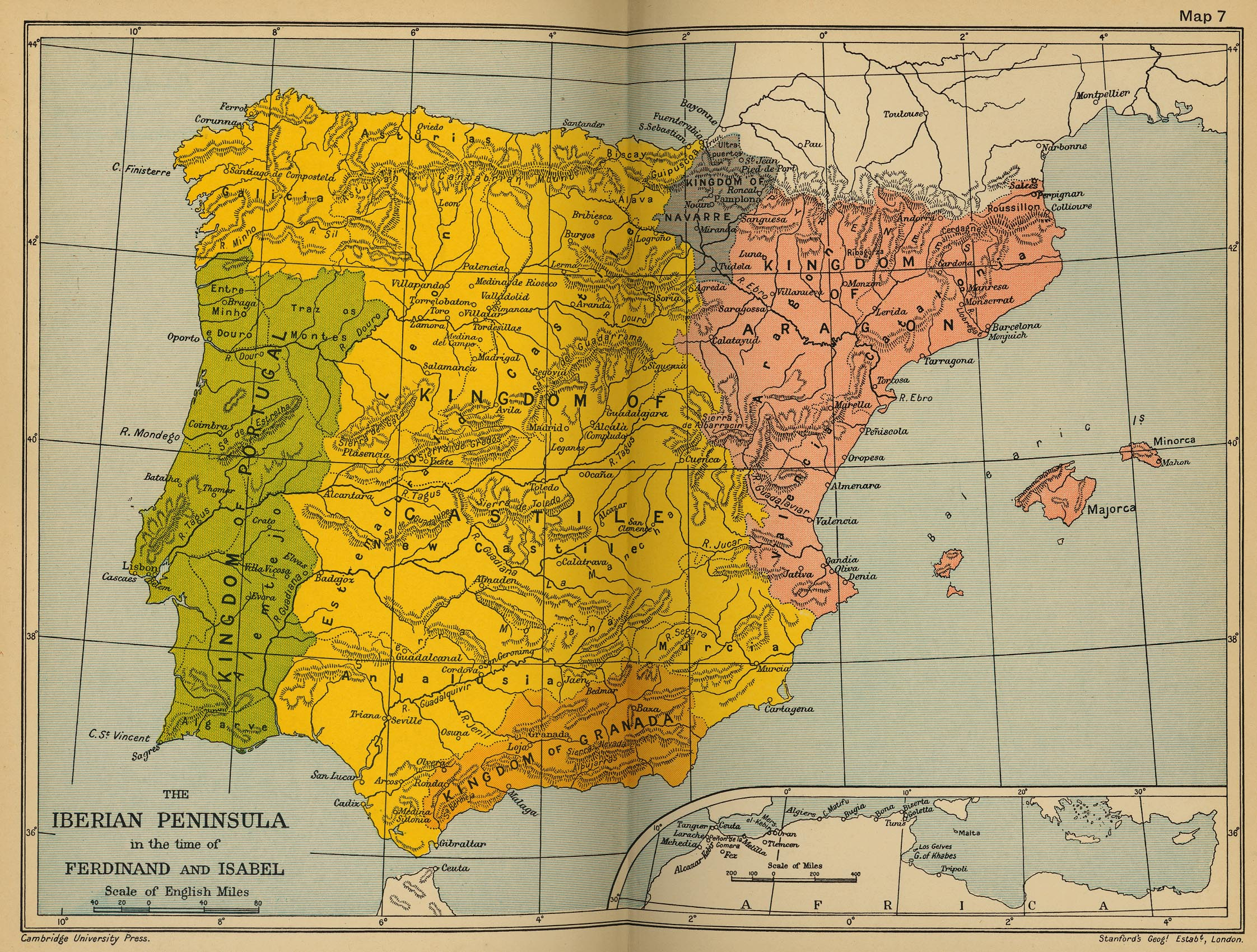 The Iberian Peninsula at the time of Ferdinand and Isabel