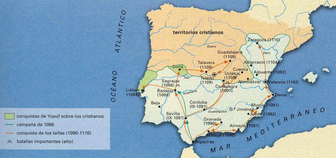 La conquista almorávide de la Península Ibérica meridional 1086-1110