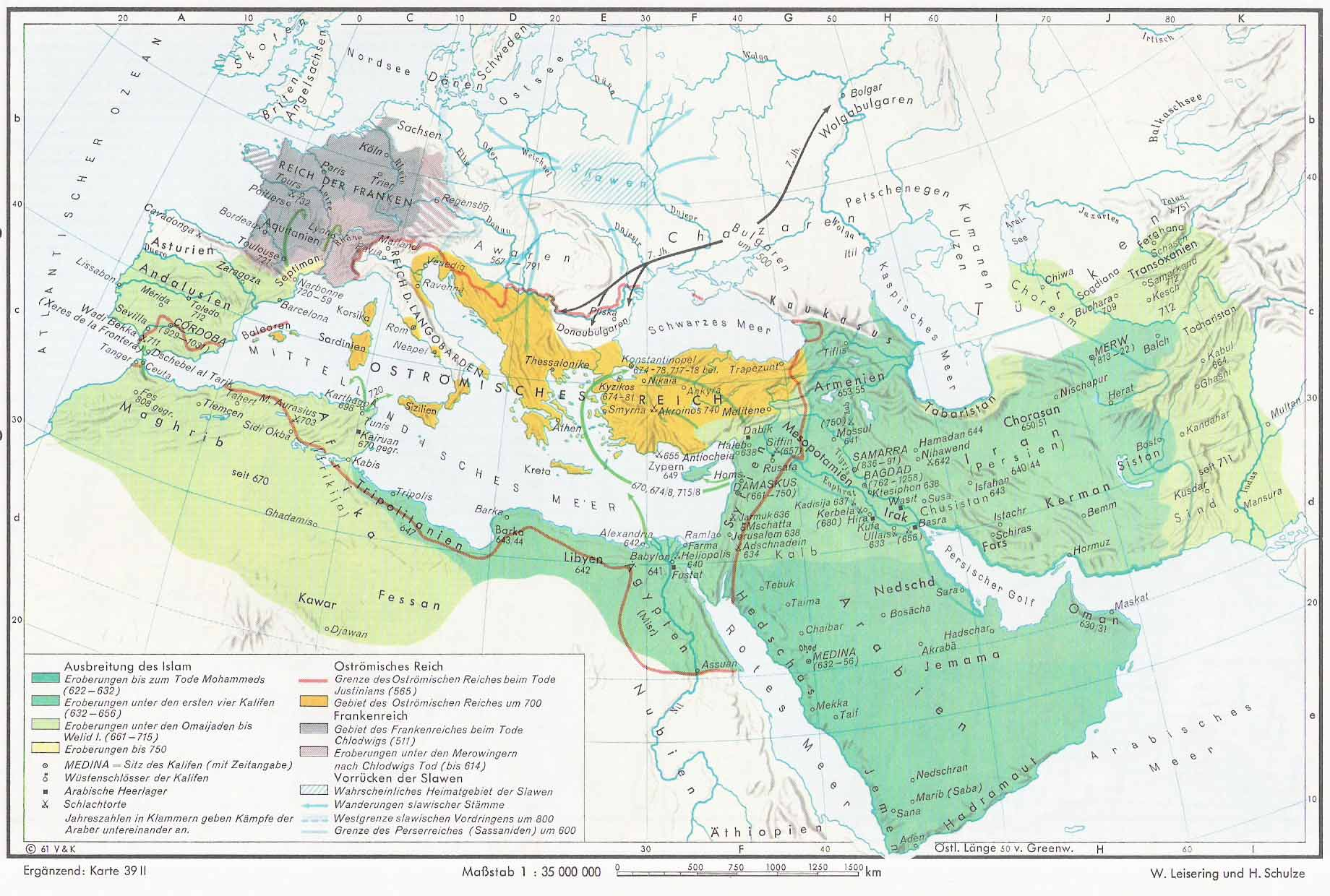 Islamic Expansion 600-750