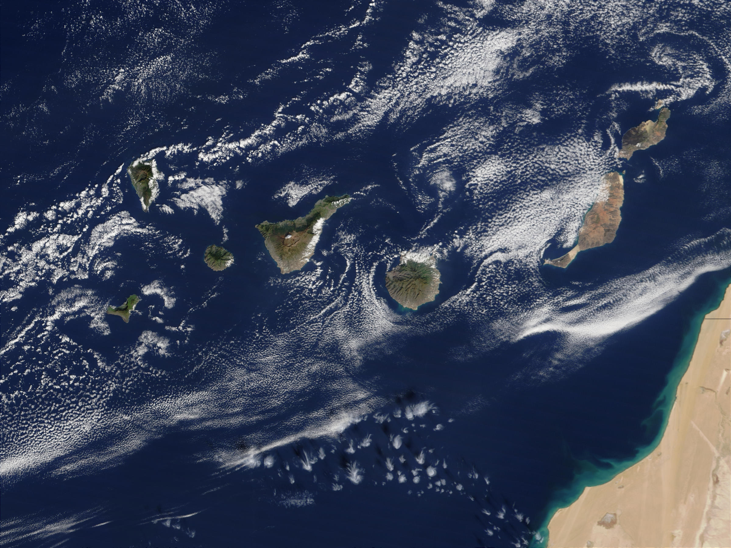 Las Islas Canarias 2002