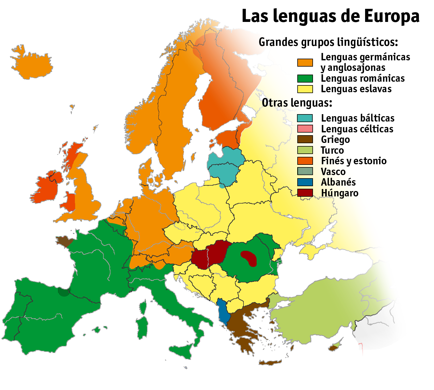 Las lenguas de Europa