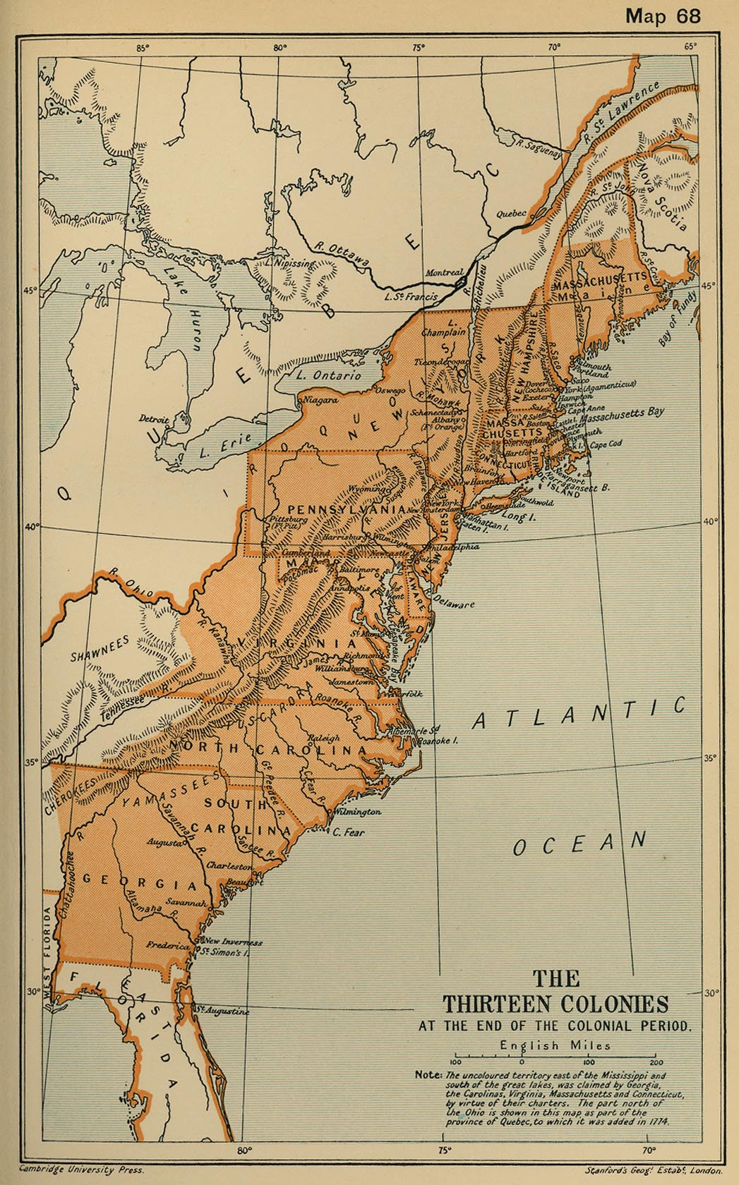 colonial massachusetts and colonial virginia Colonial america: massachusetts began as a stock trading company in 1629 it reached from north of the merrimack river to south of the charles river.