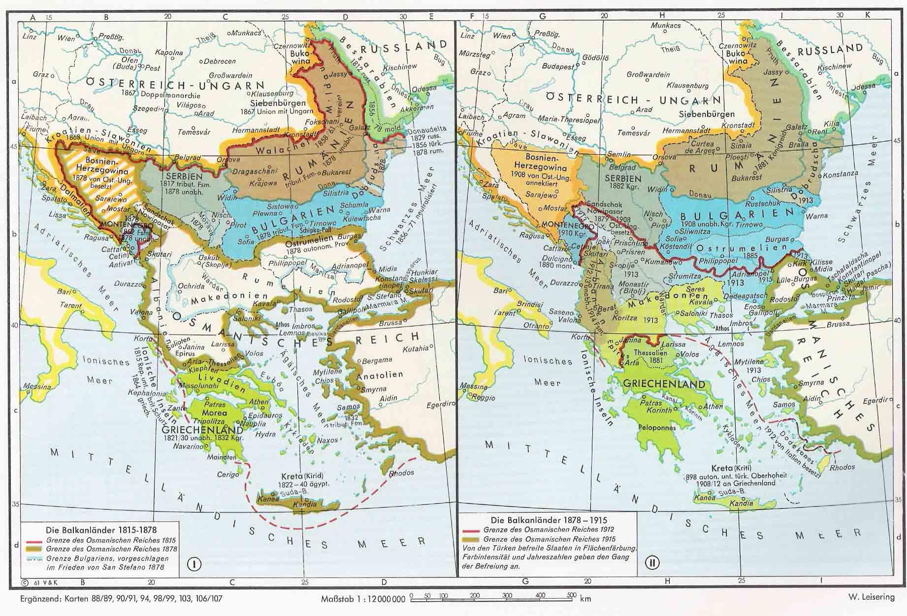 Los Balcanes 1815-1915