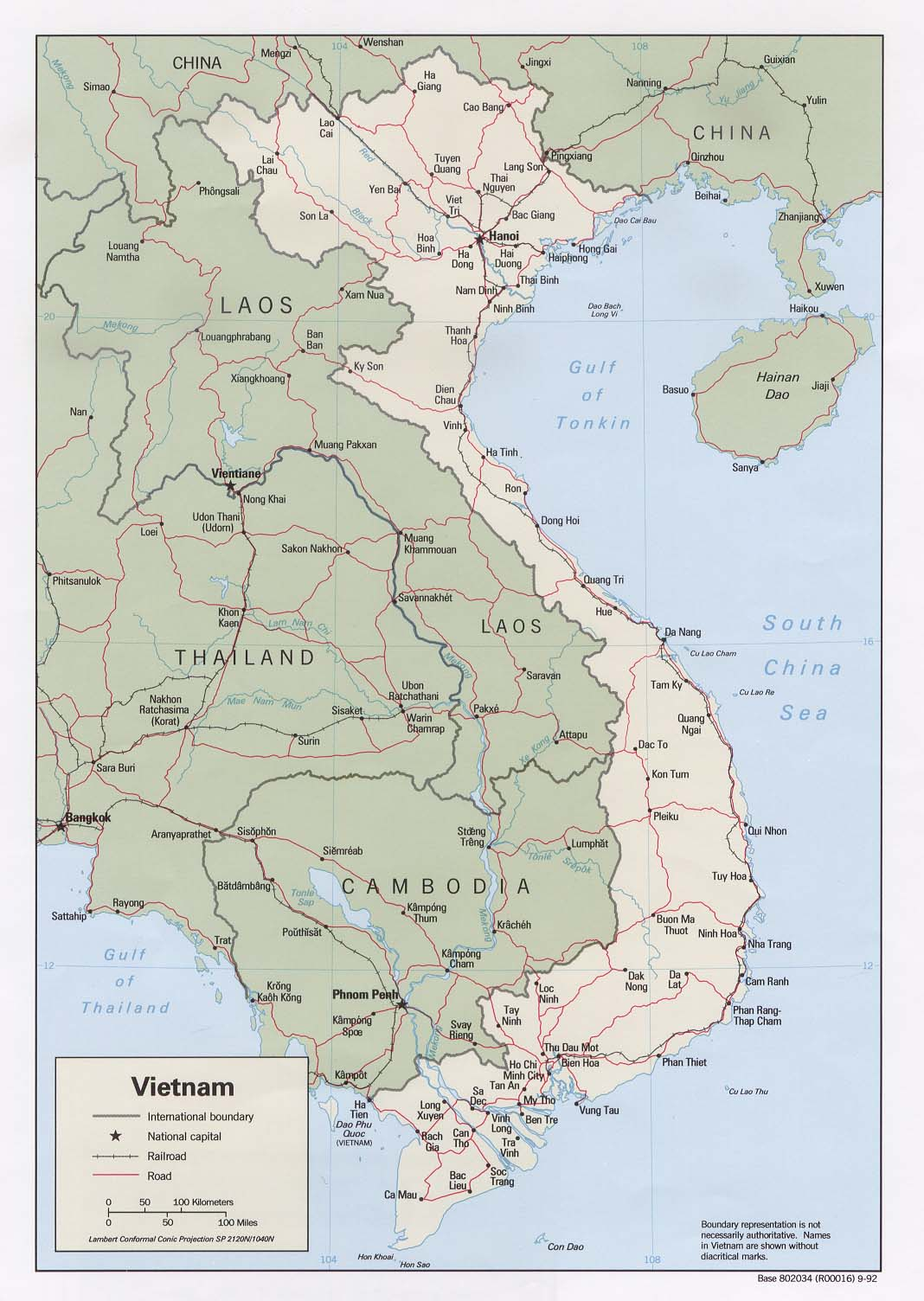 Vietnam War Map