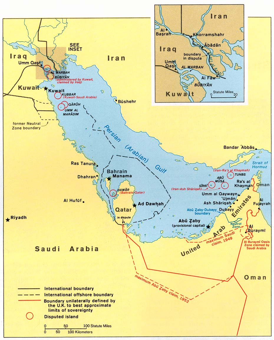 account of the persian gulf war and the accomplishments of the western countries