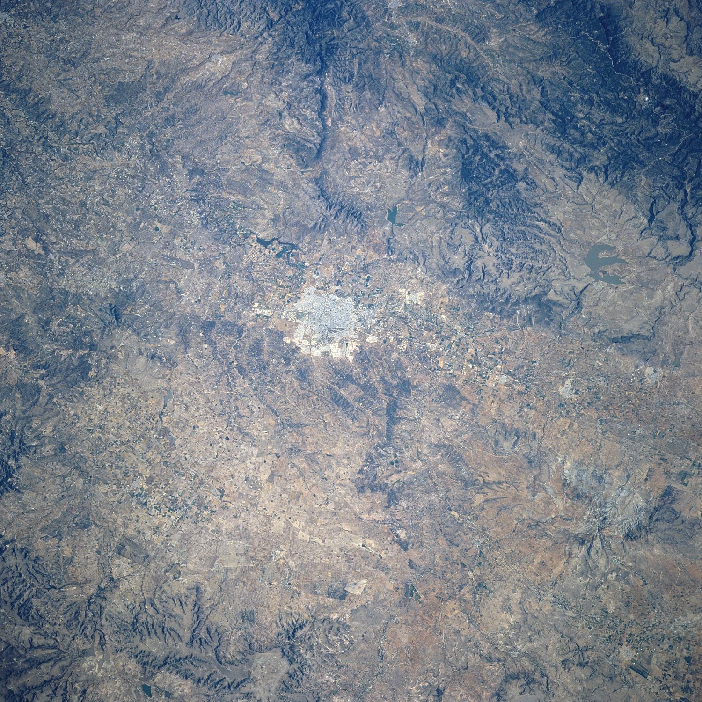 Mapa Satelital de Aguascalientes, Mexico