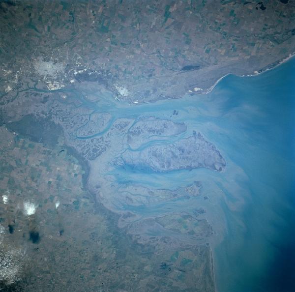 Satellite Image, Photo of Bahía Blanca, Punta Alta, Argentina