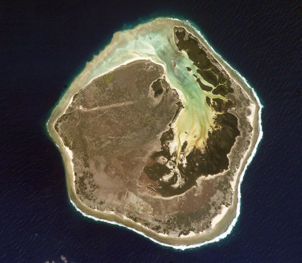 Mapa Satelital de Isla Europa