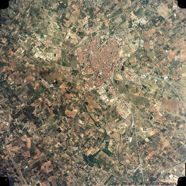 Satellite Image, Photo, Reus, Spain