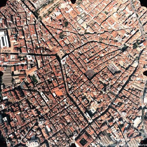 Satellite Image, Photo, Reus, Spain