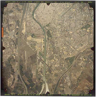 Satellite Image, Photo, Sevilla, Andalucia, Spain