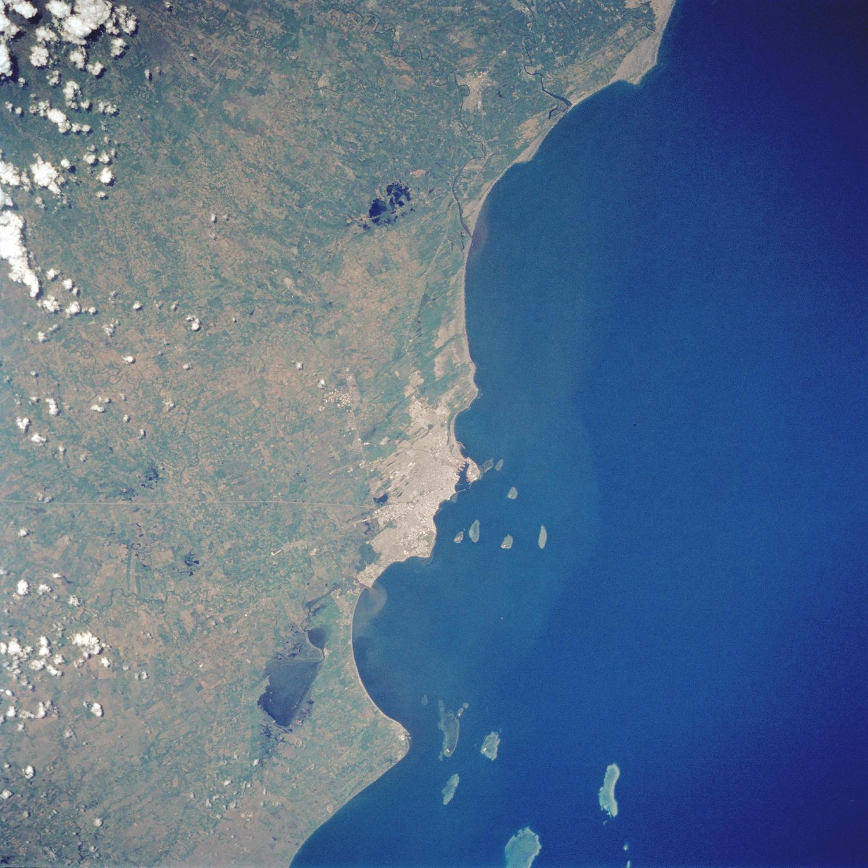 Satellite Image, Photo of Veracruz, Veracruz-Llave State, Mexico