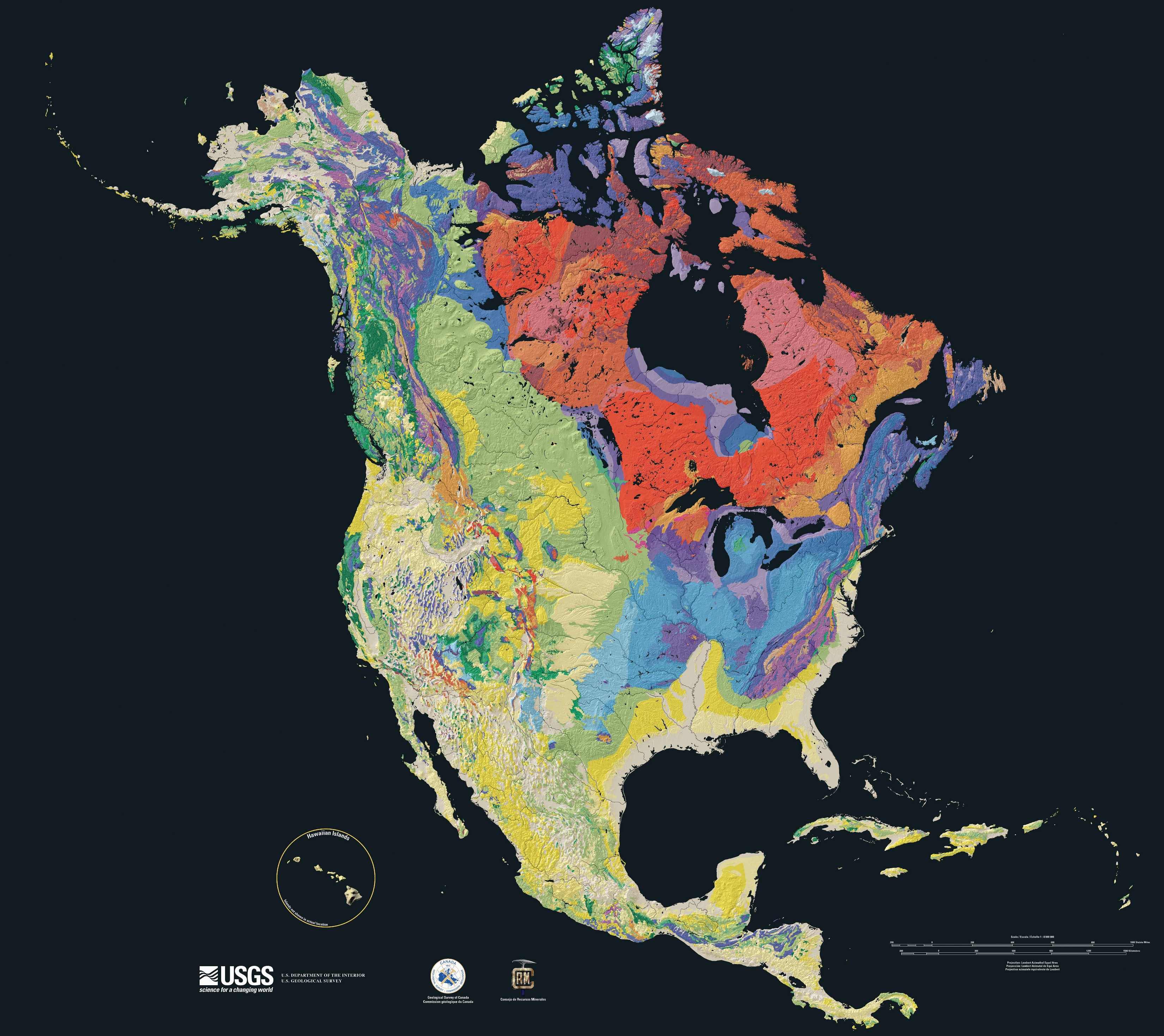 Structural Geology of North America 2003