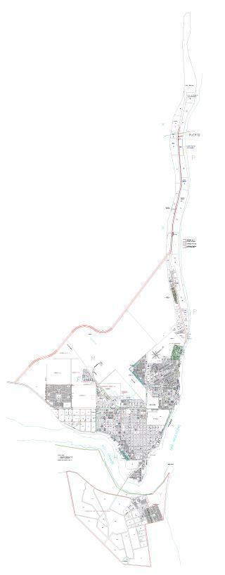 Río Grande City Map, Tierra del Fuego Prov., Argentina