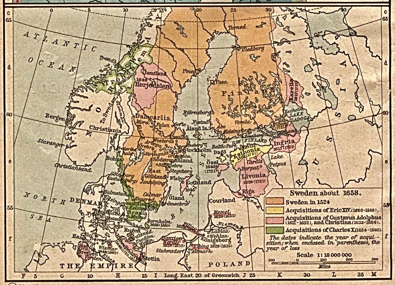 Sweden Historical Maps