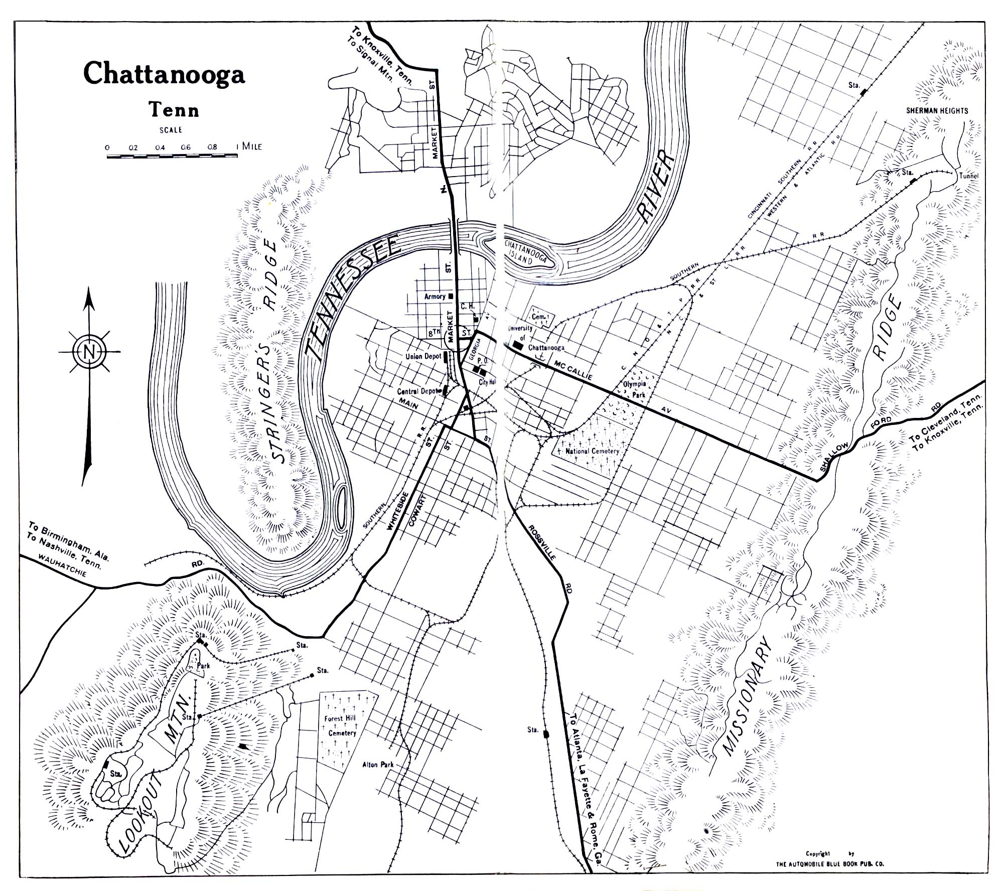 The Chattanooga Campaign Death Of The Confederacy - Mapa de tennessee
