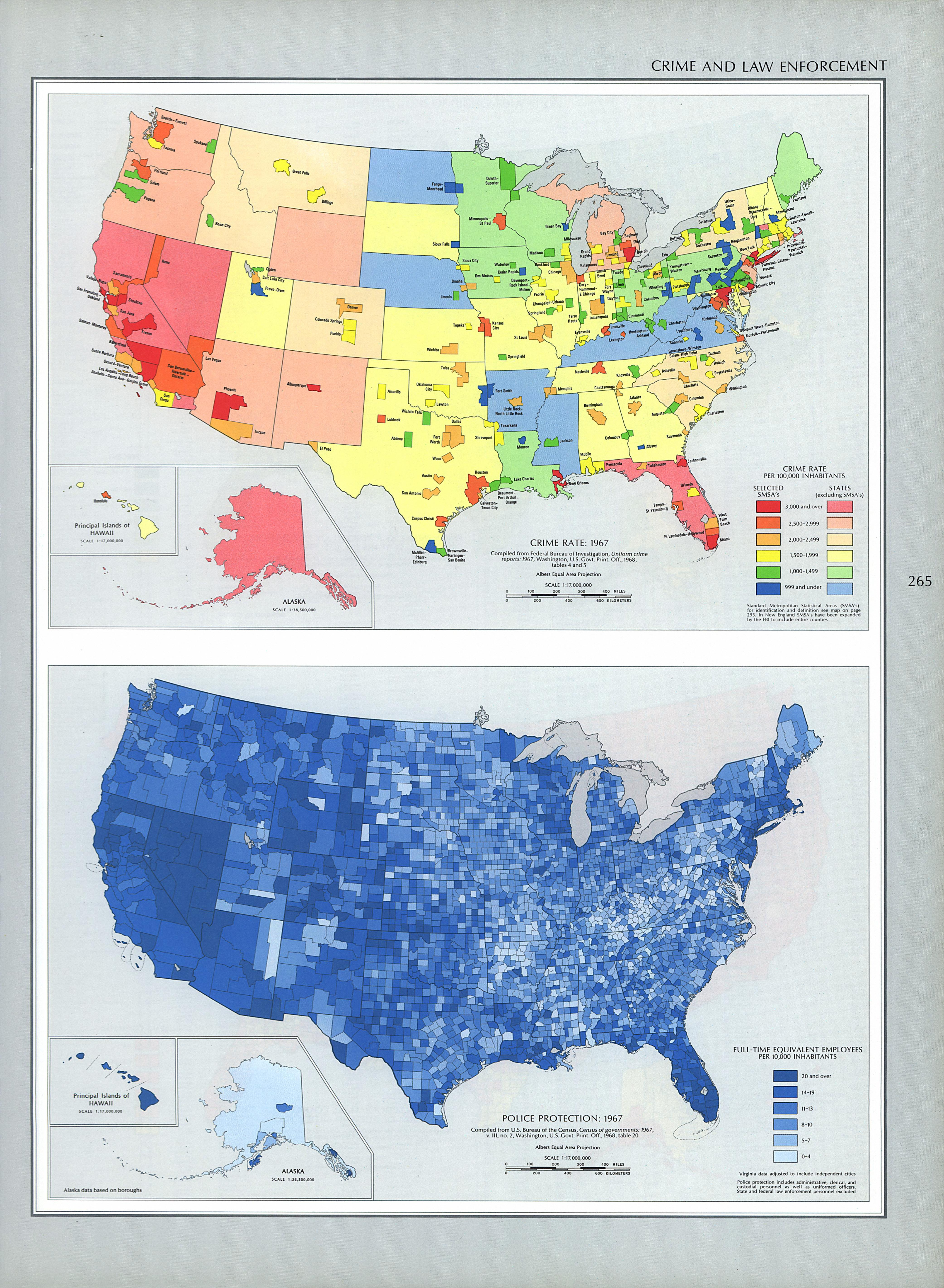 United States Crime and Law Enforcement Map