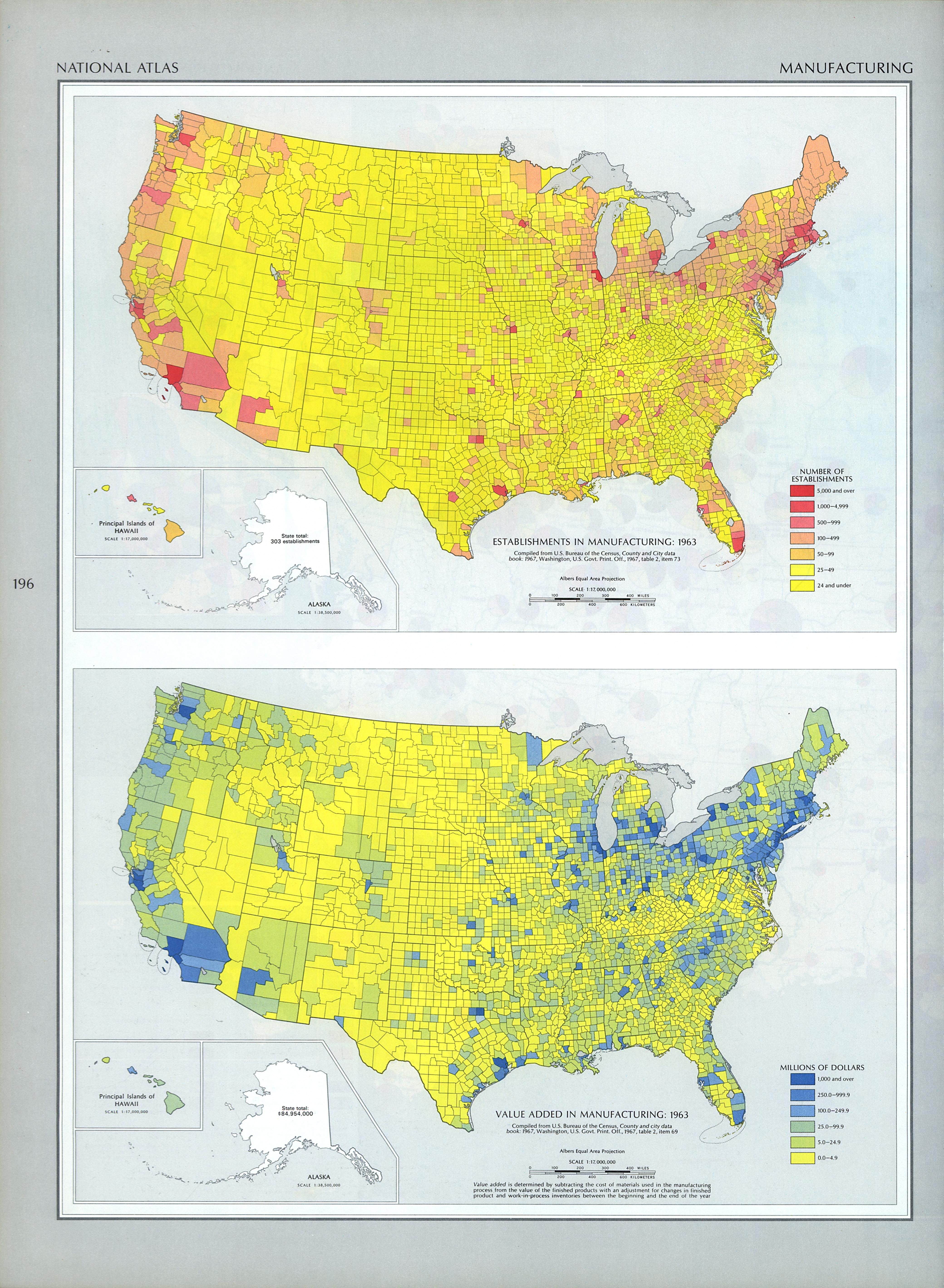 United States Manufacturing Map