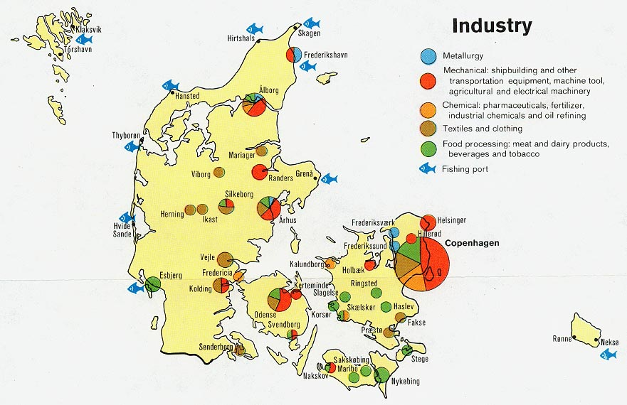 Denmark Industry Map