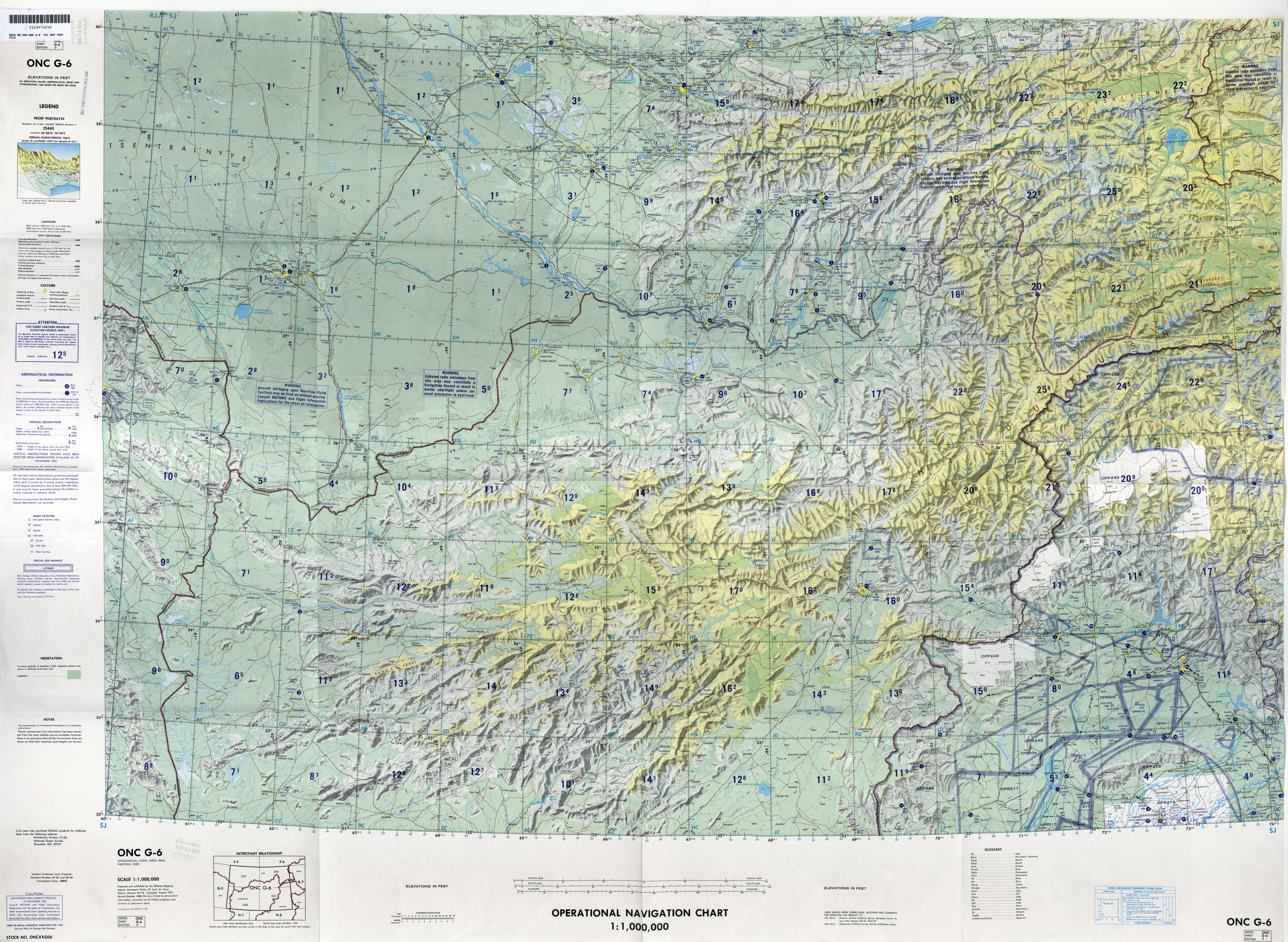 Mapa del Nordeste de Irán