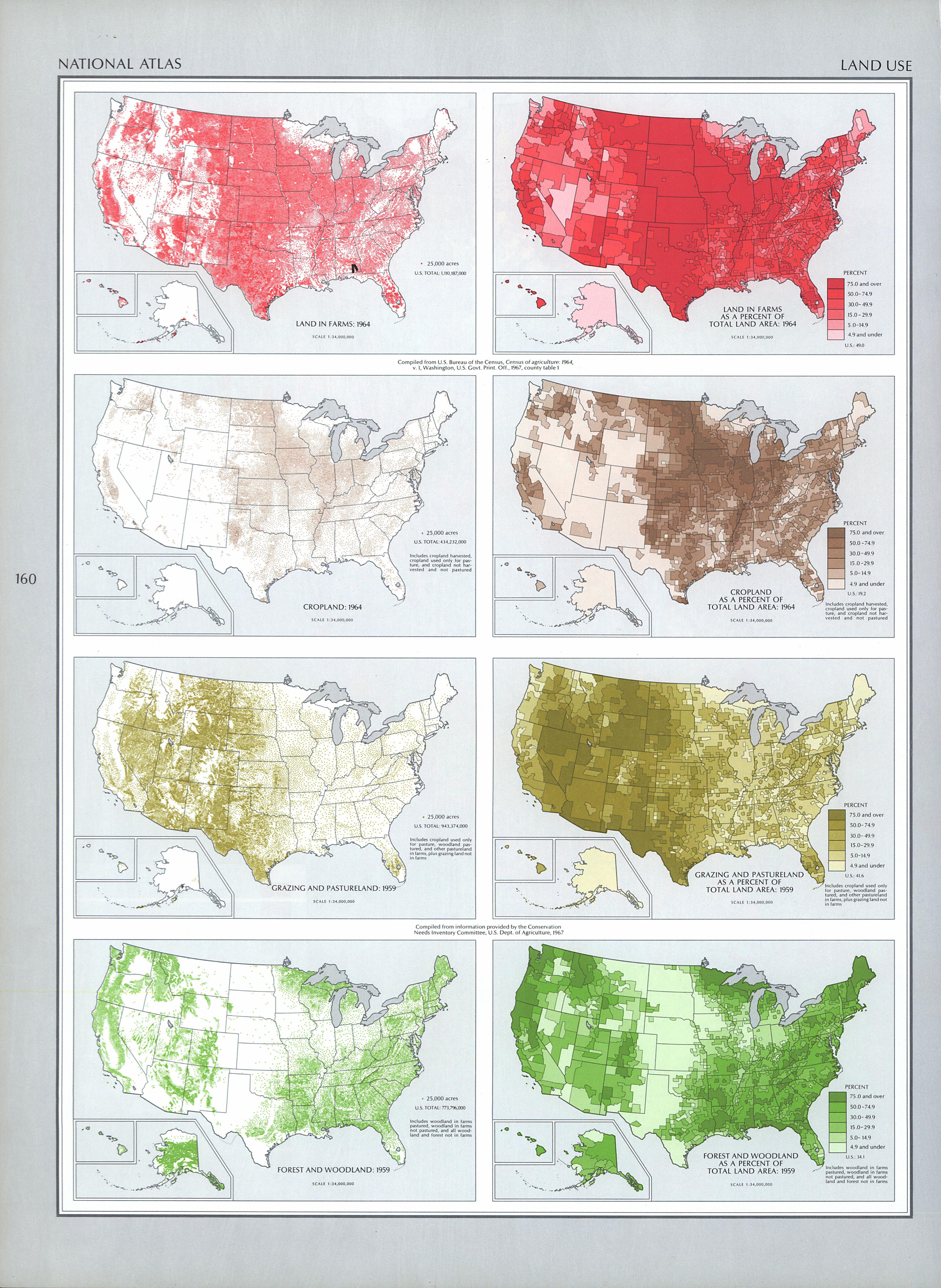 United States Land Use Map