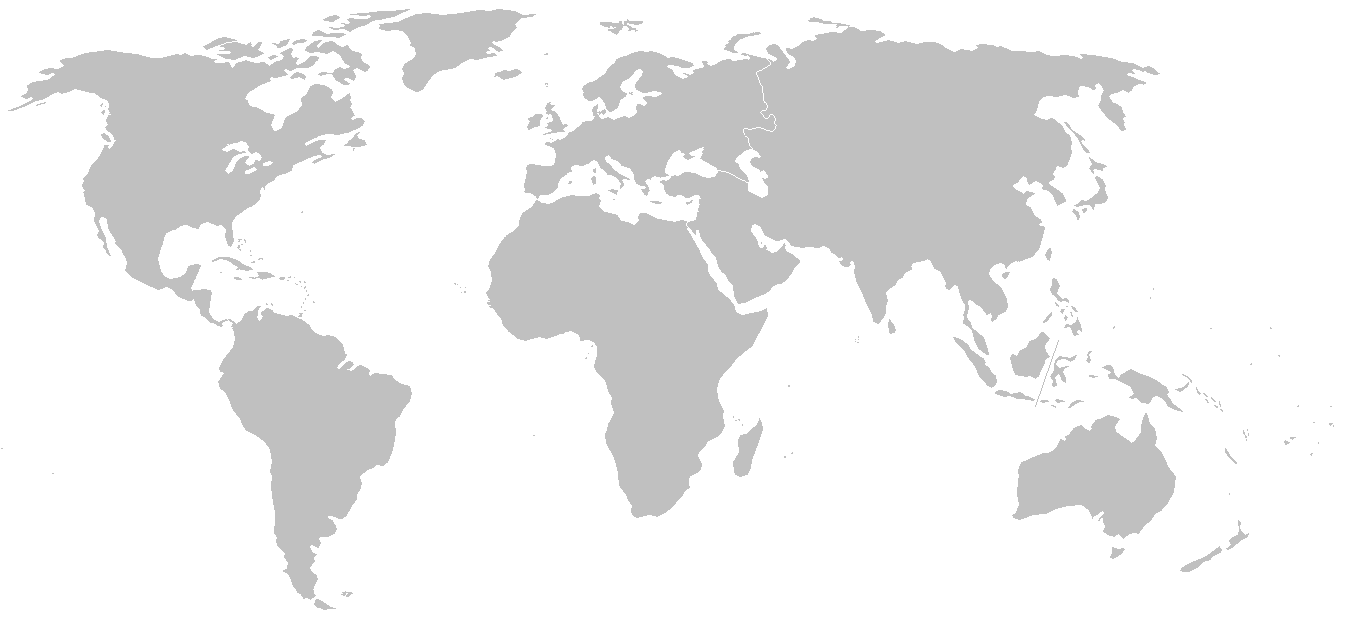 World blank map