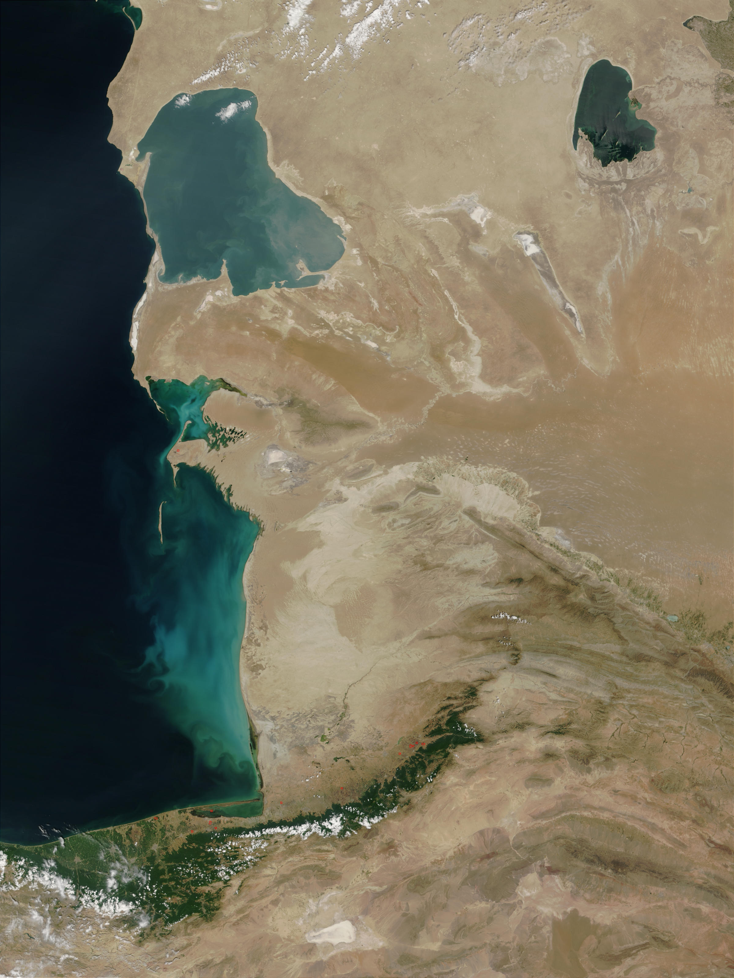 Mar Caspio, Turkmenistán