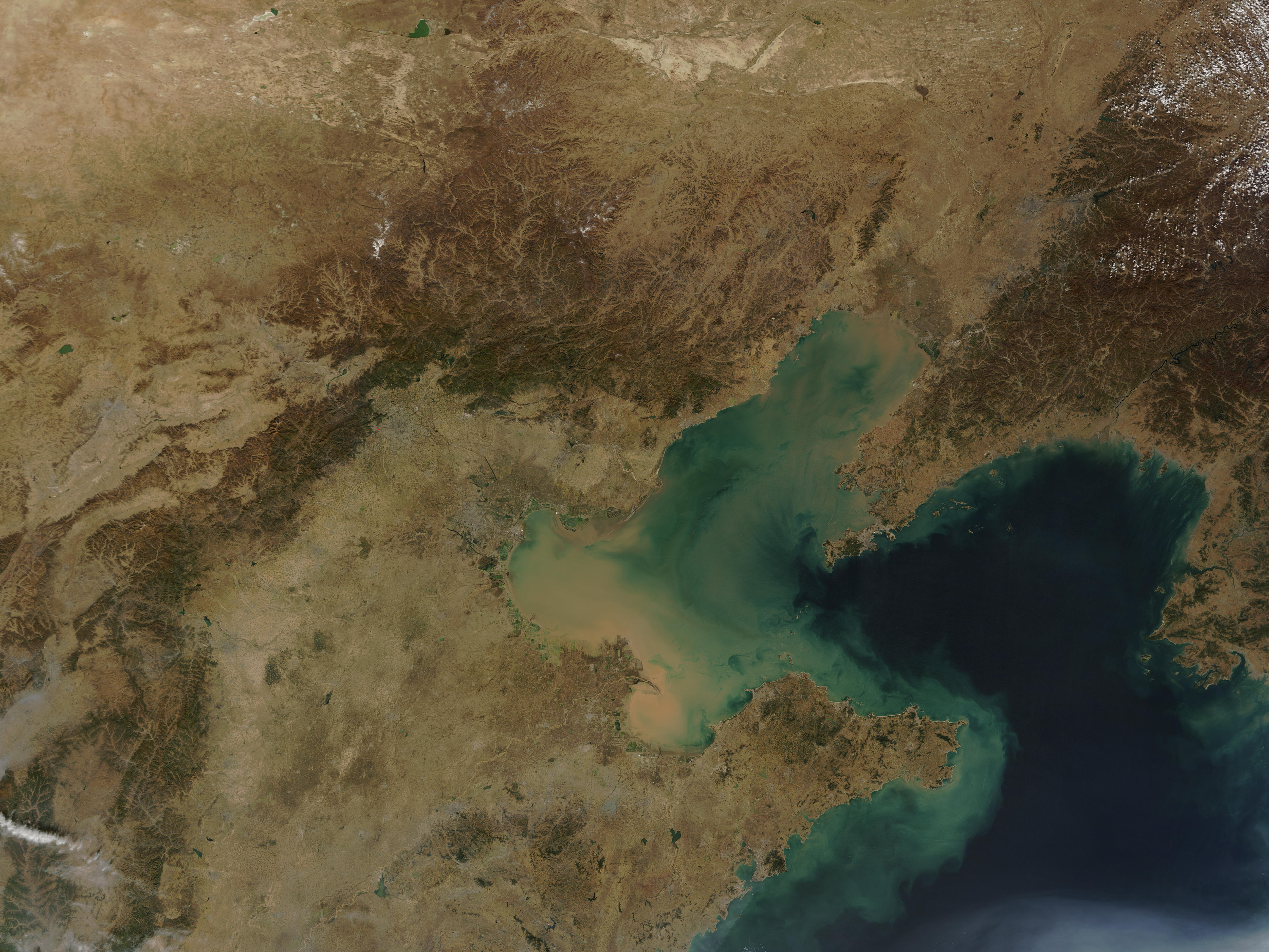 Bo Hai and northeastern China