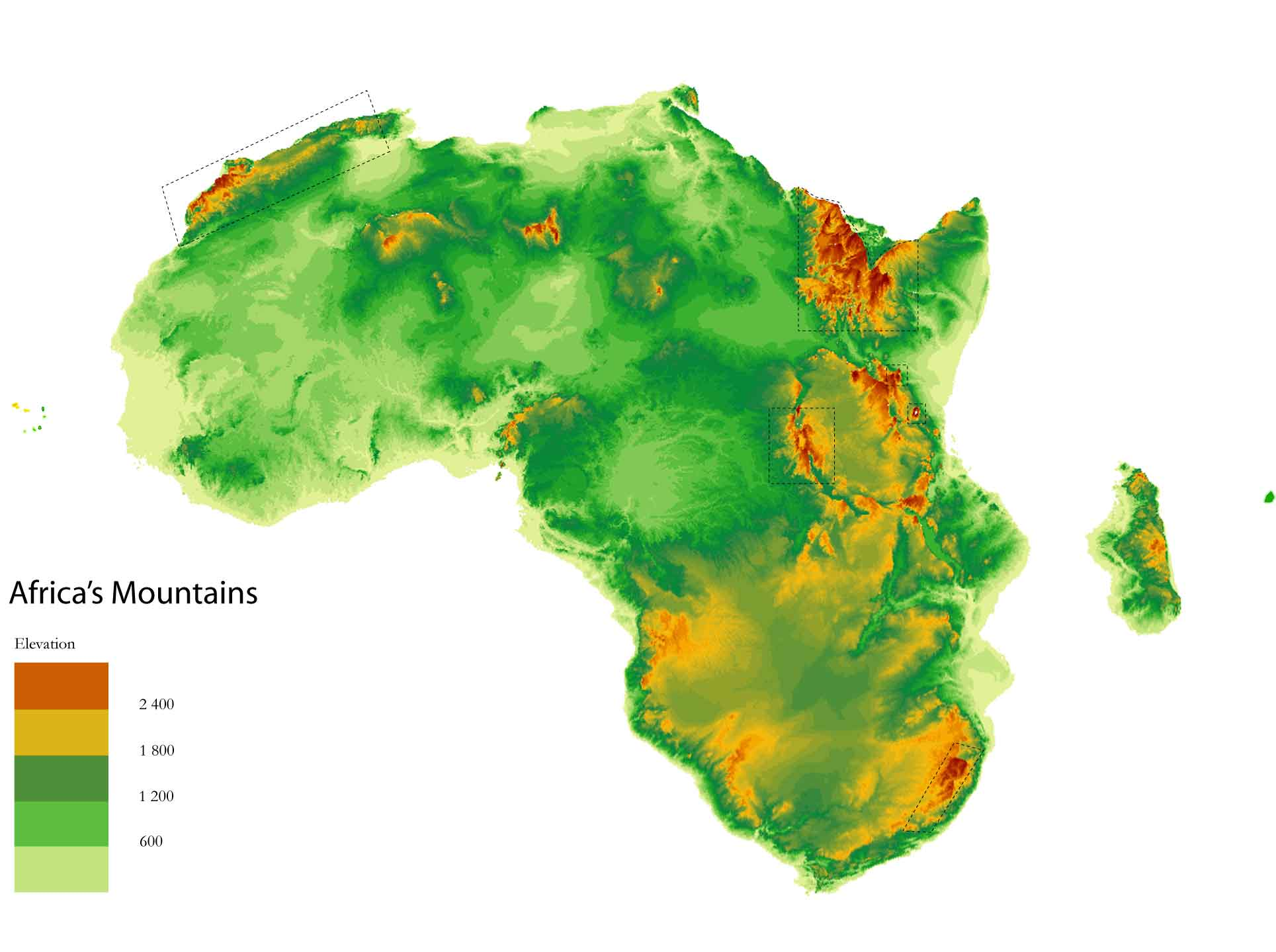 Montañas de África
