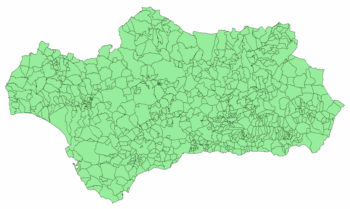 Municipalities of Andalusia 2003