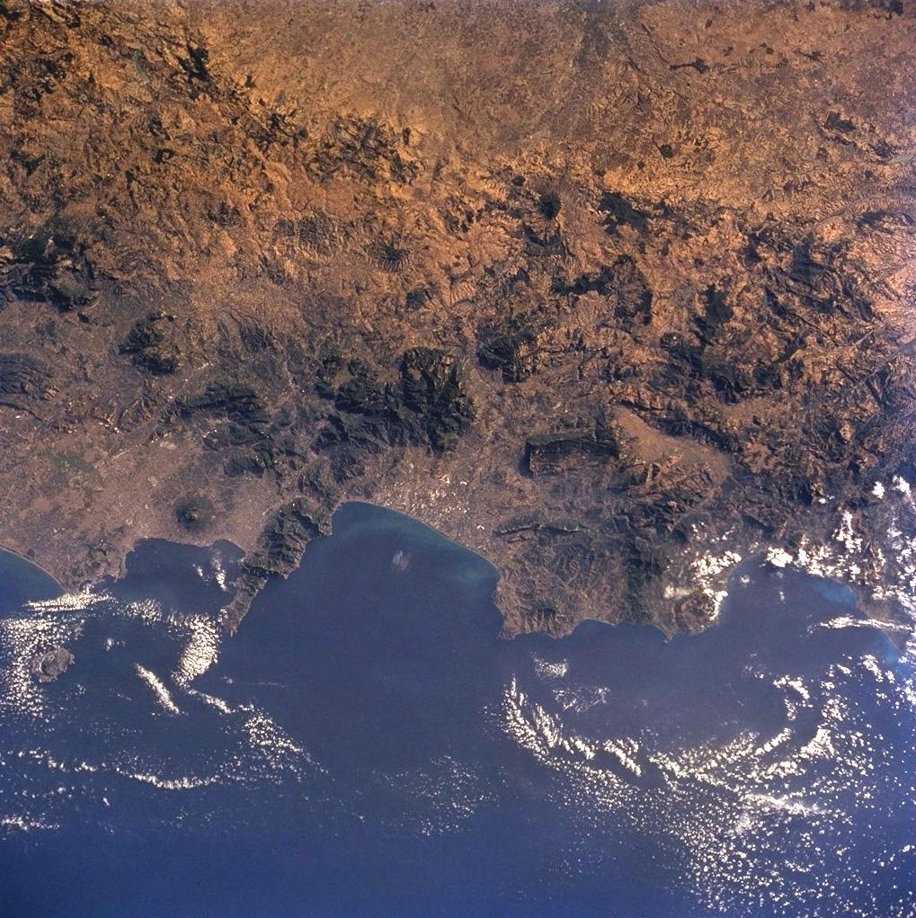 Nápoles y volcanismo - volcanes Etna y Vesuvius