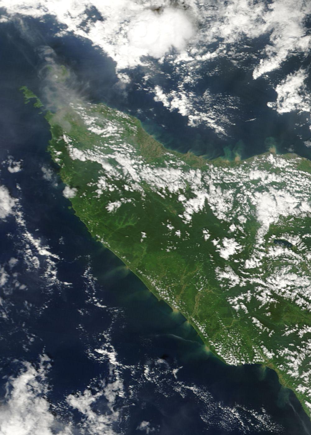 Norte de Sumatra, Indonesia (antes maremoto)