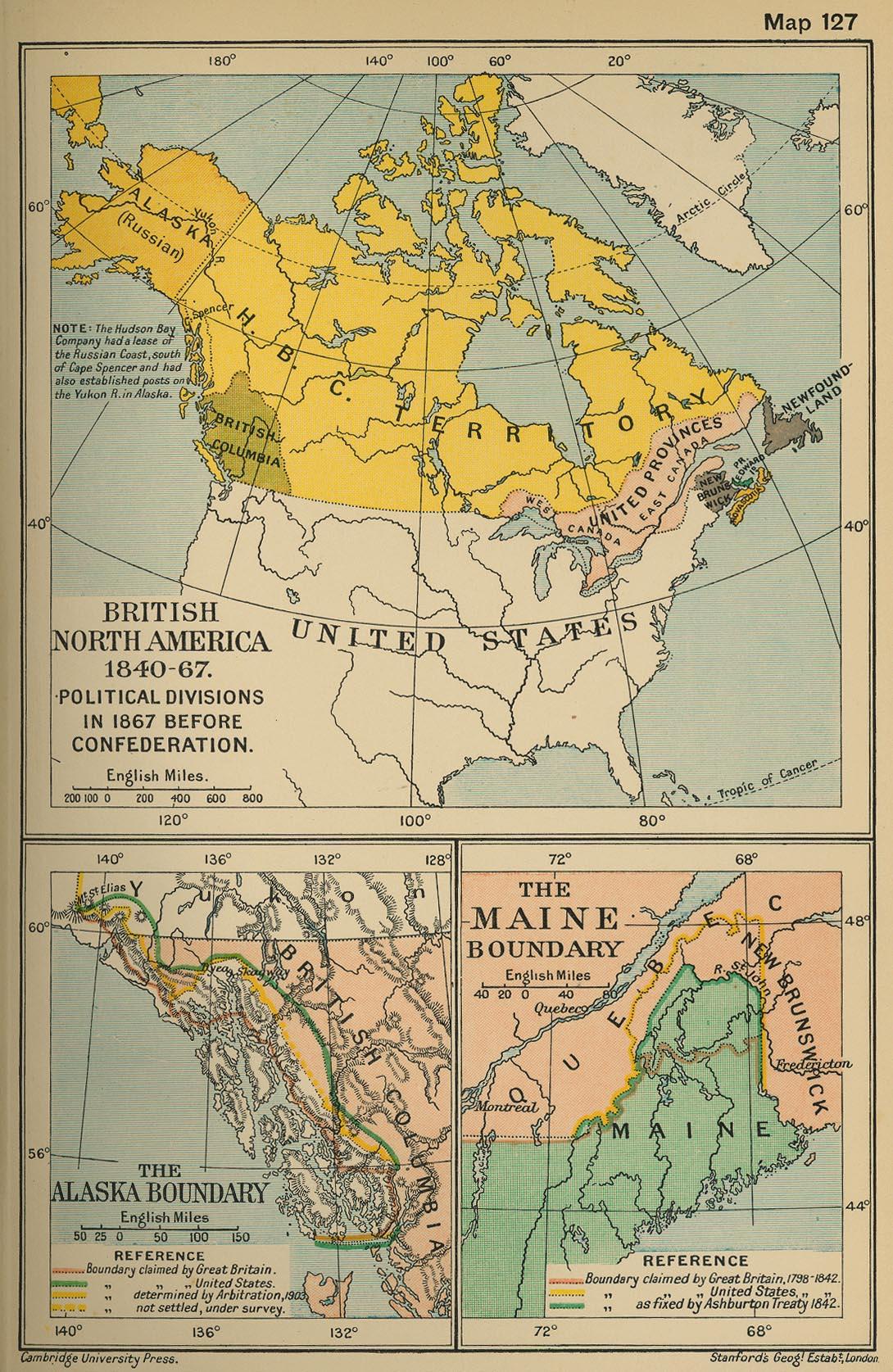 Norteamérica británica 1840-1867