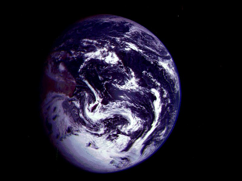 Oceania seen from space