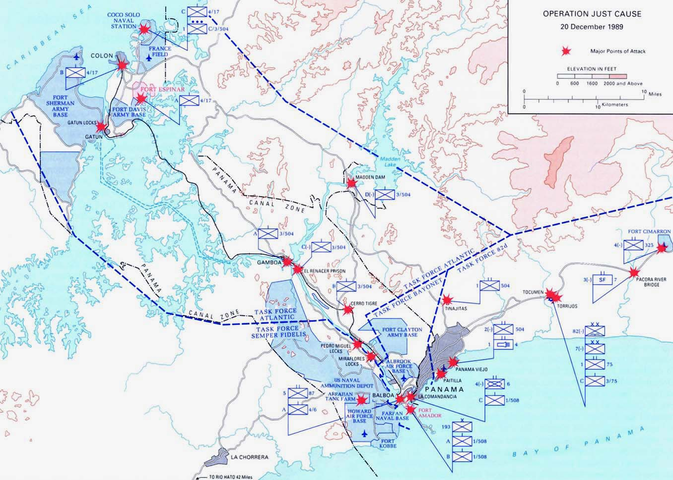 Operación Causa Justa, Panamá, 20 Diciembre 1989