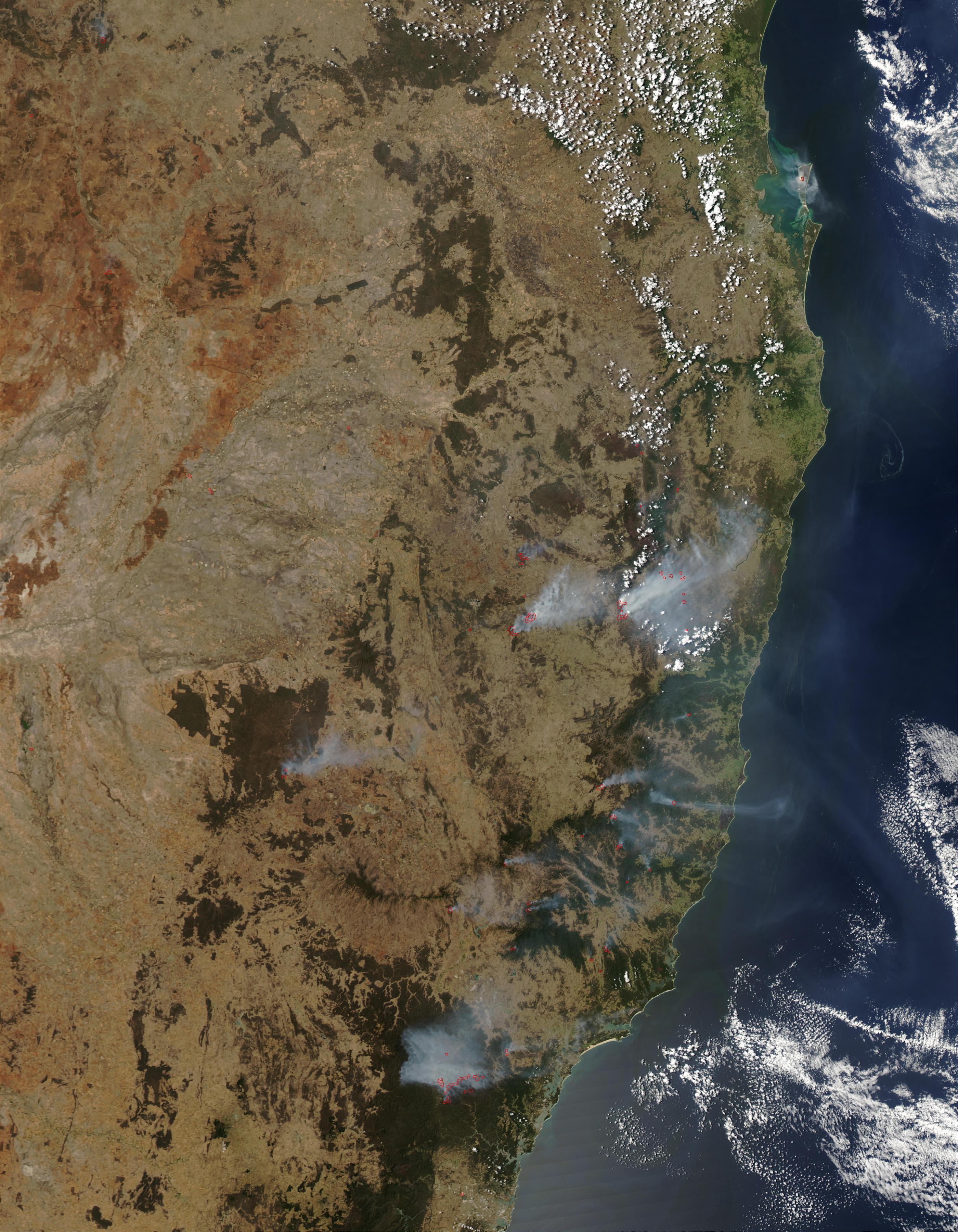 Peligro extremo de incendios en Nueva Gales del Sur