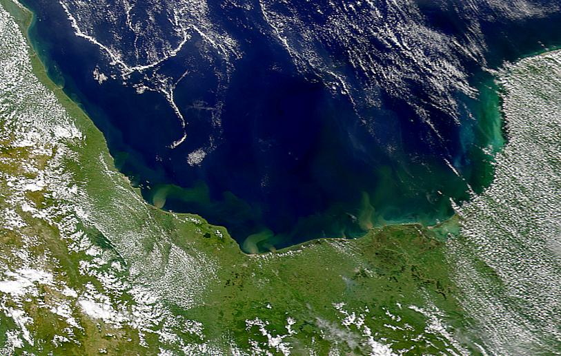 Bay of Campeche Sediment Plumes