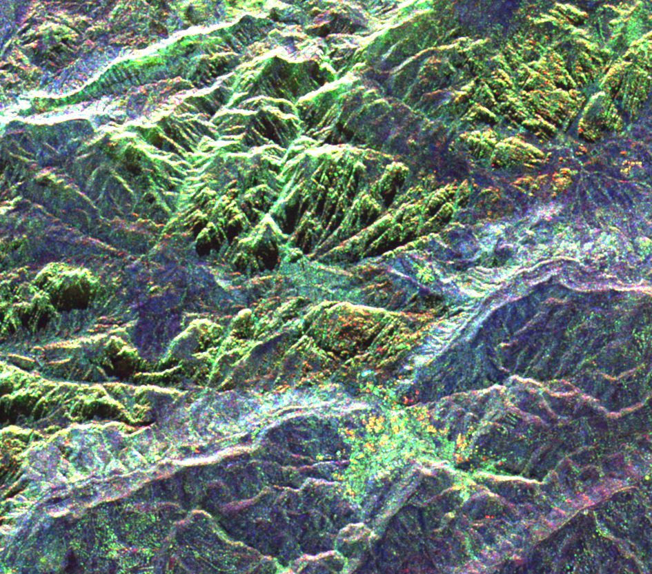 Mapa de Petra, Jordania