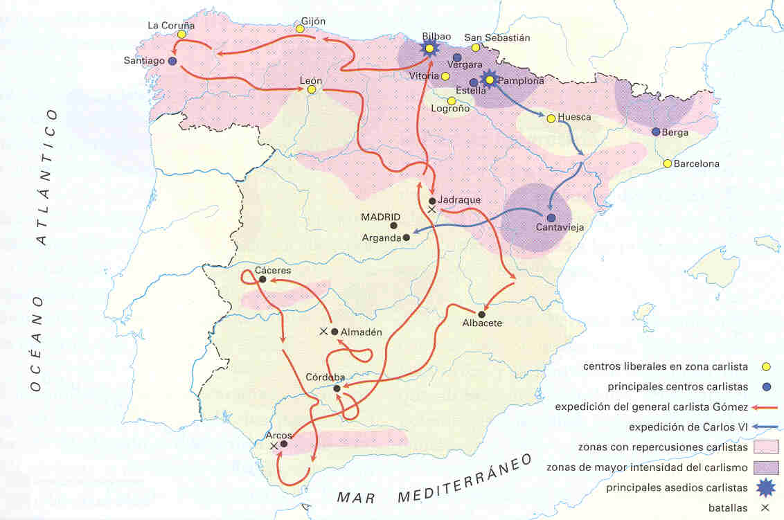Primera Guerra Carlista 1833–1840