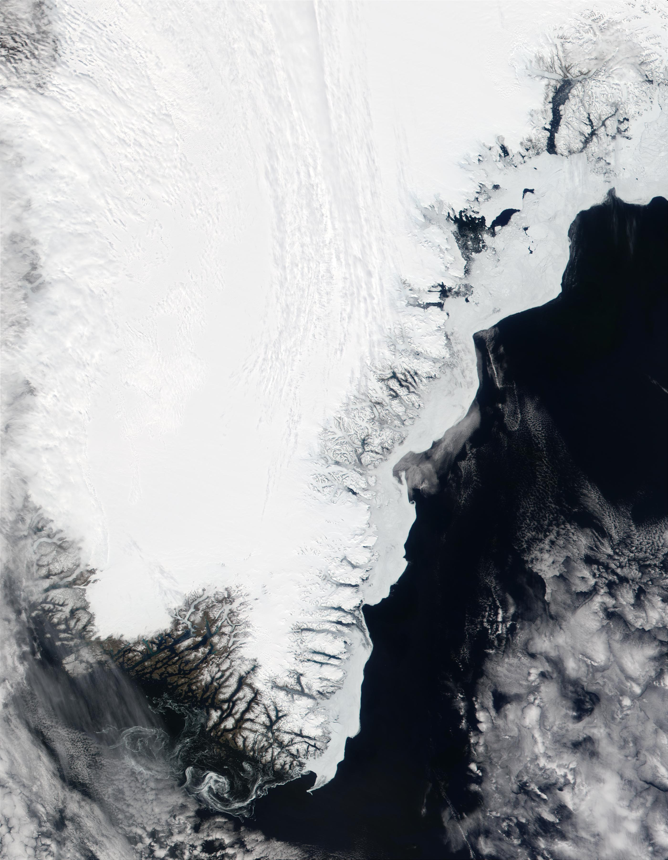 Southern tip of Greenland