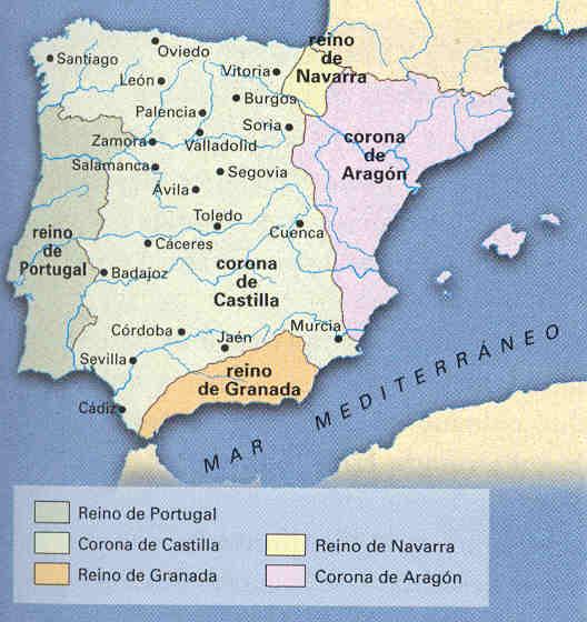 The Reconquista of the Iberian Peninsula mid-13th century