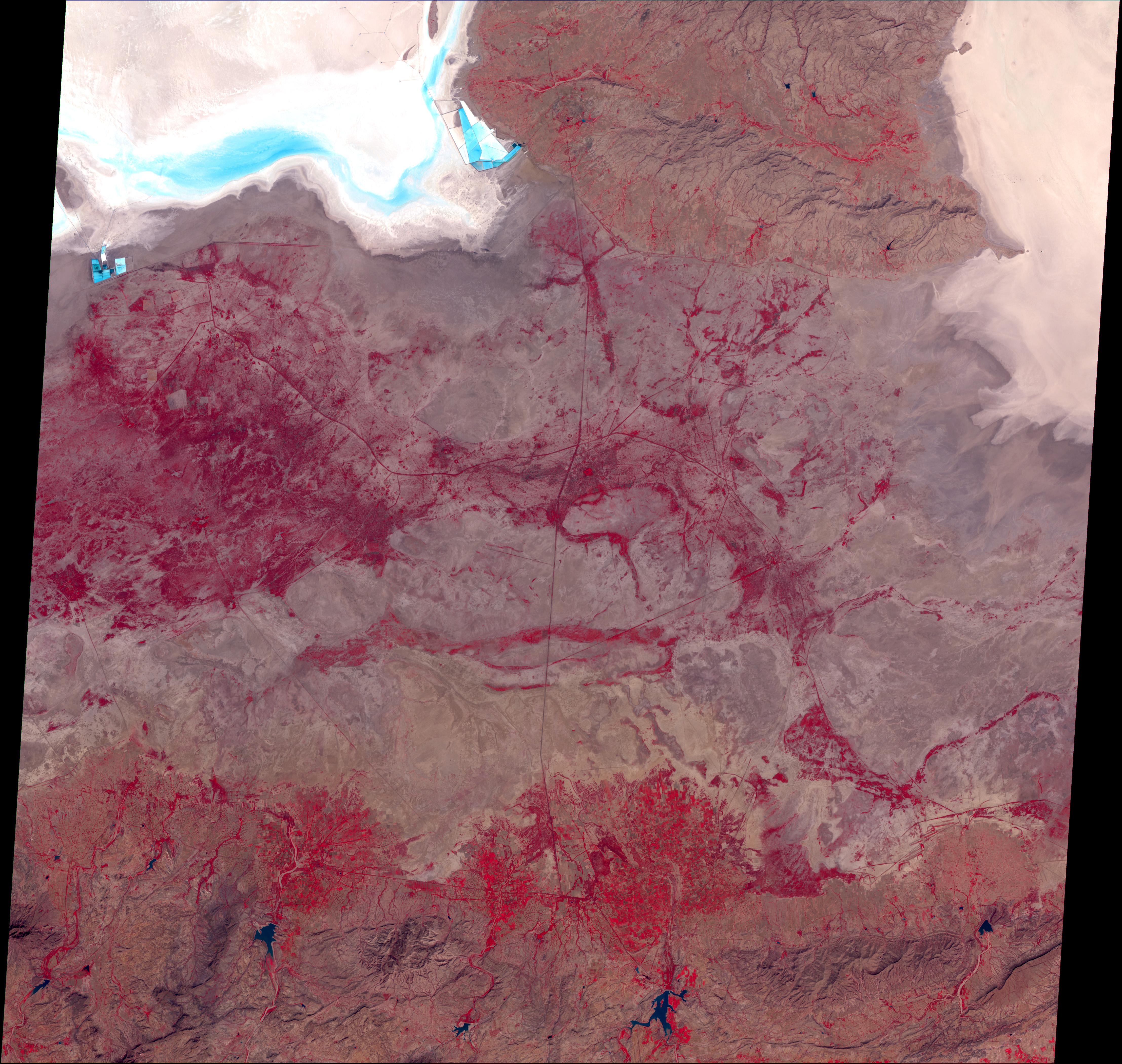 Región del terremoto, India